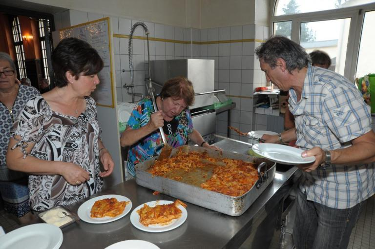 11 juillet Accueil en cuisine
