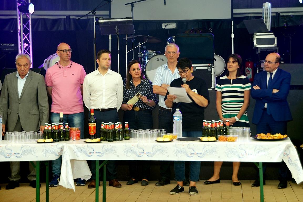 12 juillet   Discours de Silvana le Golvan Présidente du Comité des fêtes