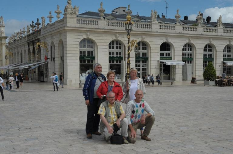 13 juillet Nancy - Place Stanislas
