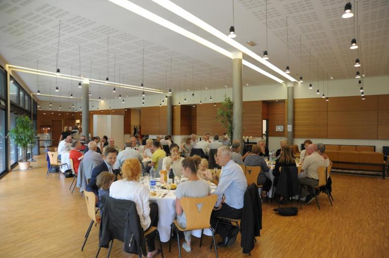 13 juillet Nancy - Déjeuner au Conseil Départemental de Meurthe et Moselle