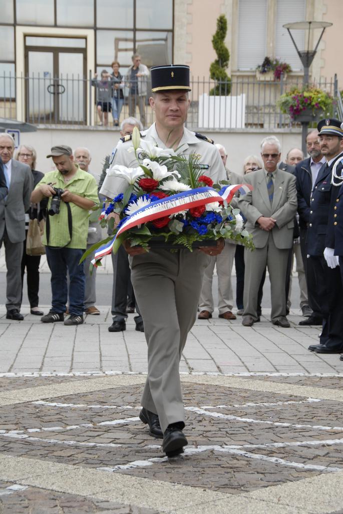 Représentant de la 6ème Compagnie du 40ème RT de Thionville