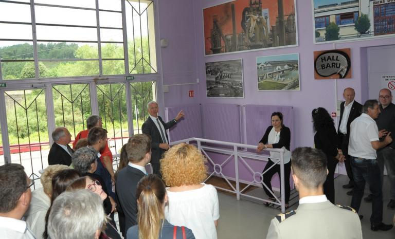 14 juillet Présentation de l'Espace Jean Moulin