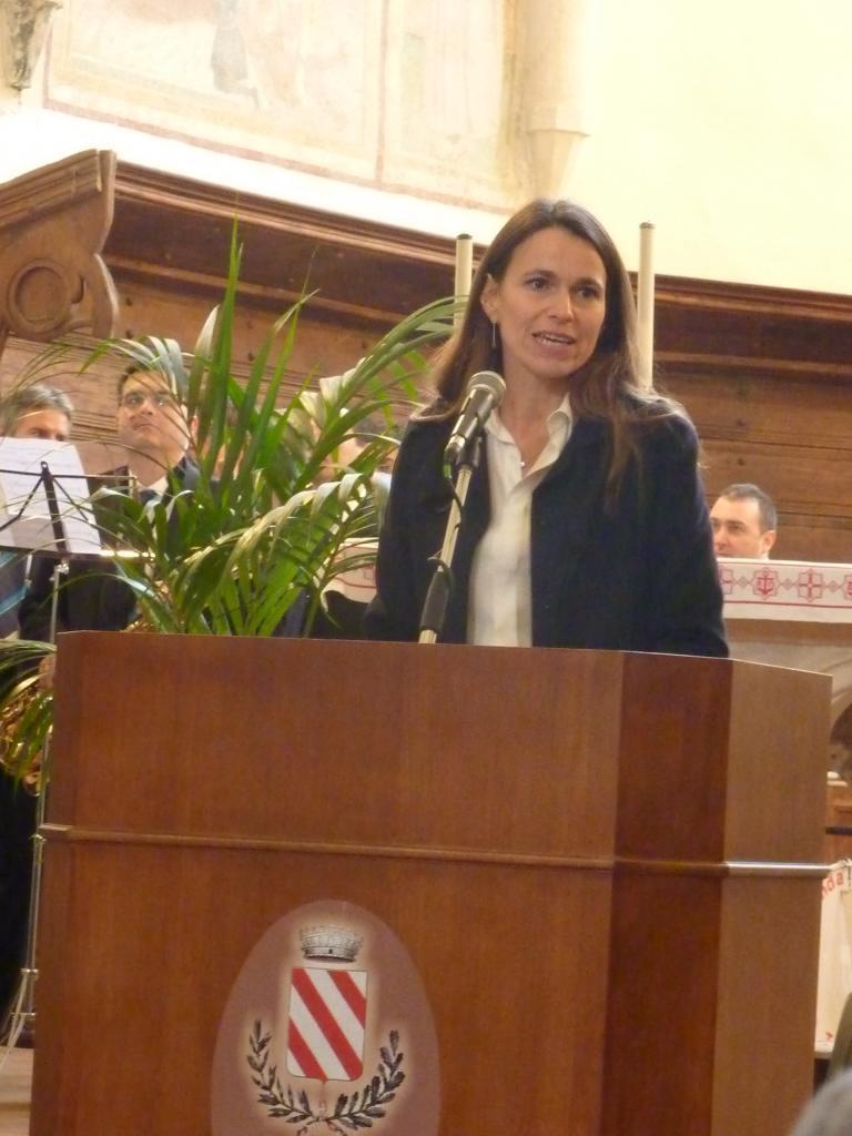 2012 - Aurélie Filippetti à Gualdo