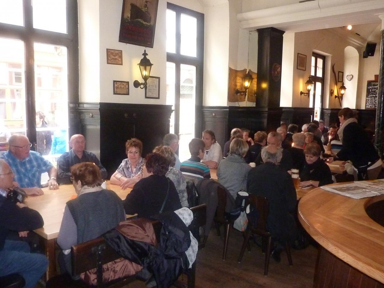 Déjeuner à Heidelberg