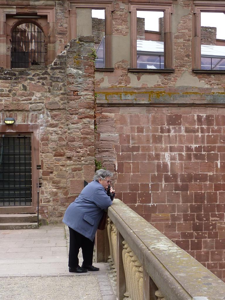 Heidelberg - Pause téléphone