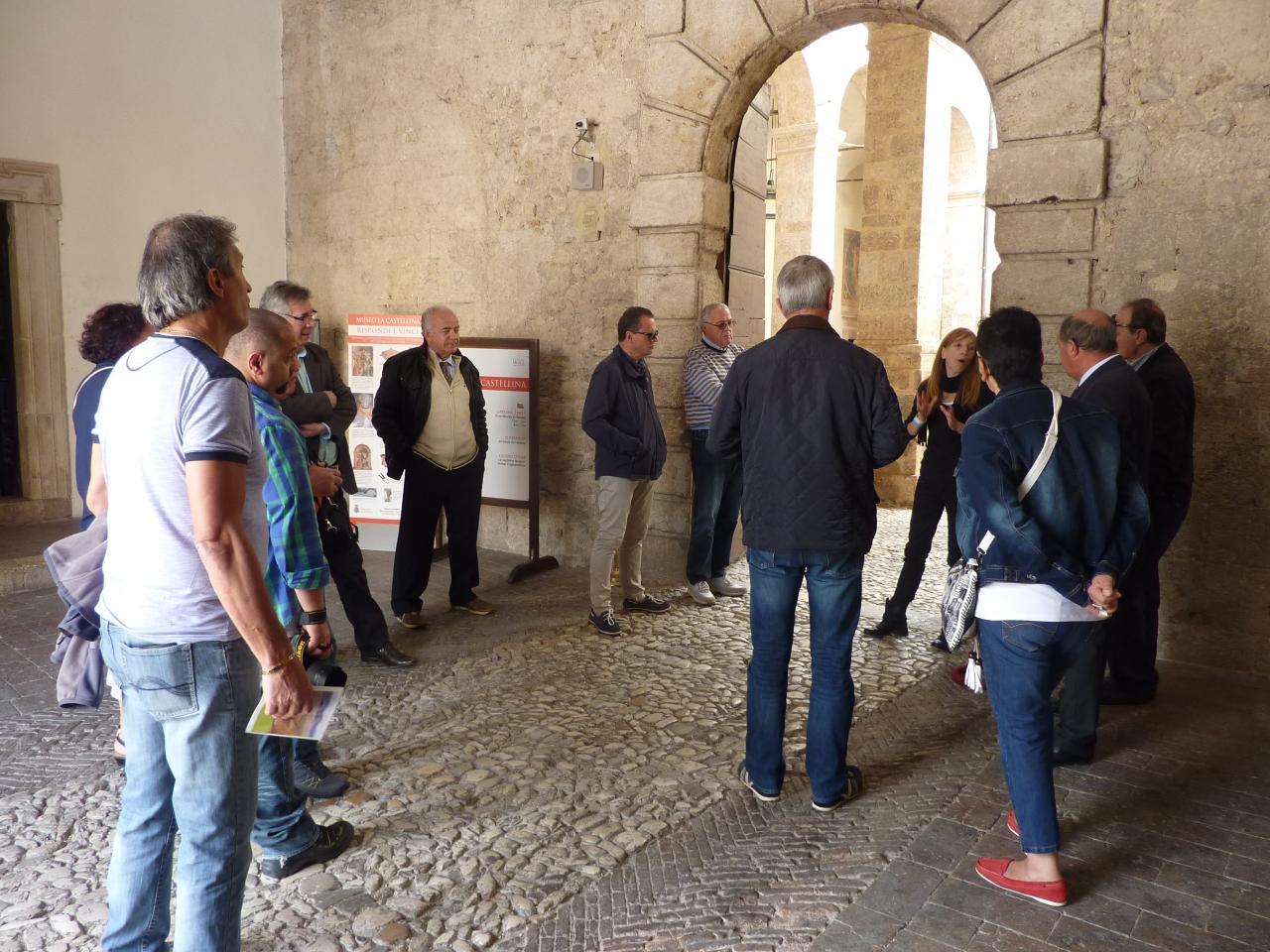 2014 09 - Délégation à Gualdo - Norcia