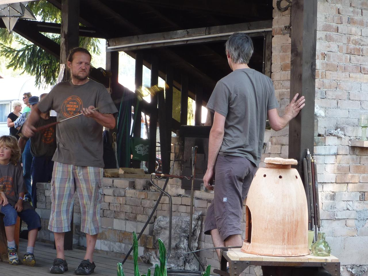 2014 - Visite à Destné en Tchéquie