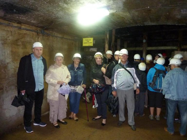 2014 - Visite de la ville souterraine d'Osowka