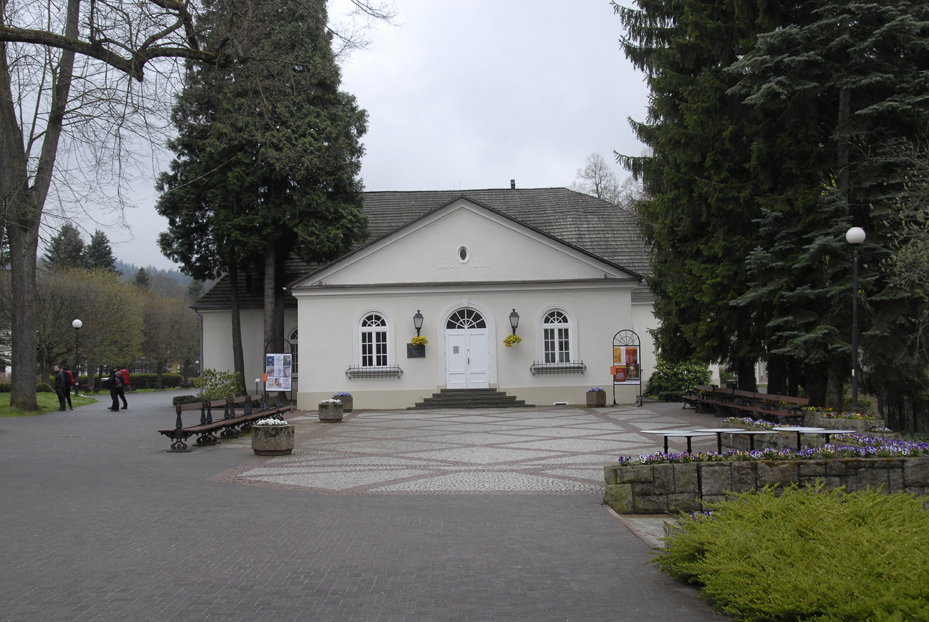 Duszniki Zdroj - Le parc