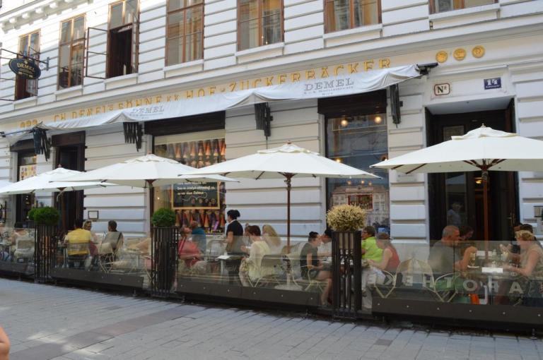 2015 - Vienne - Café Demel