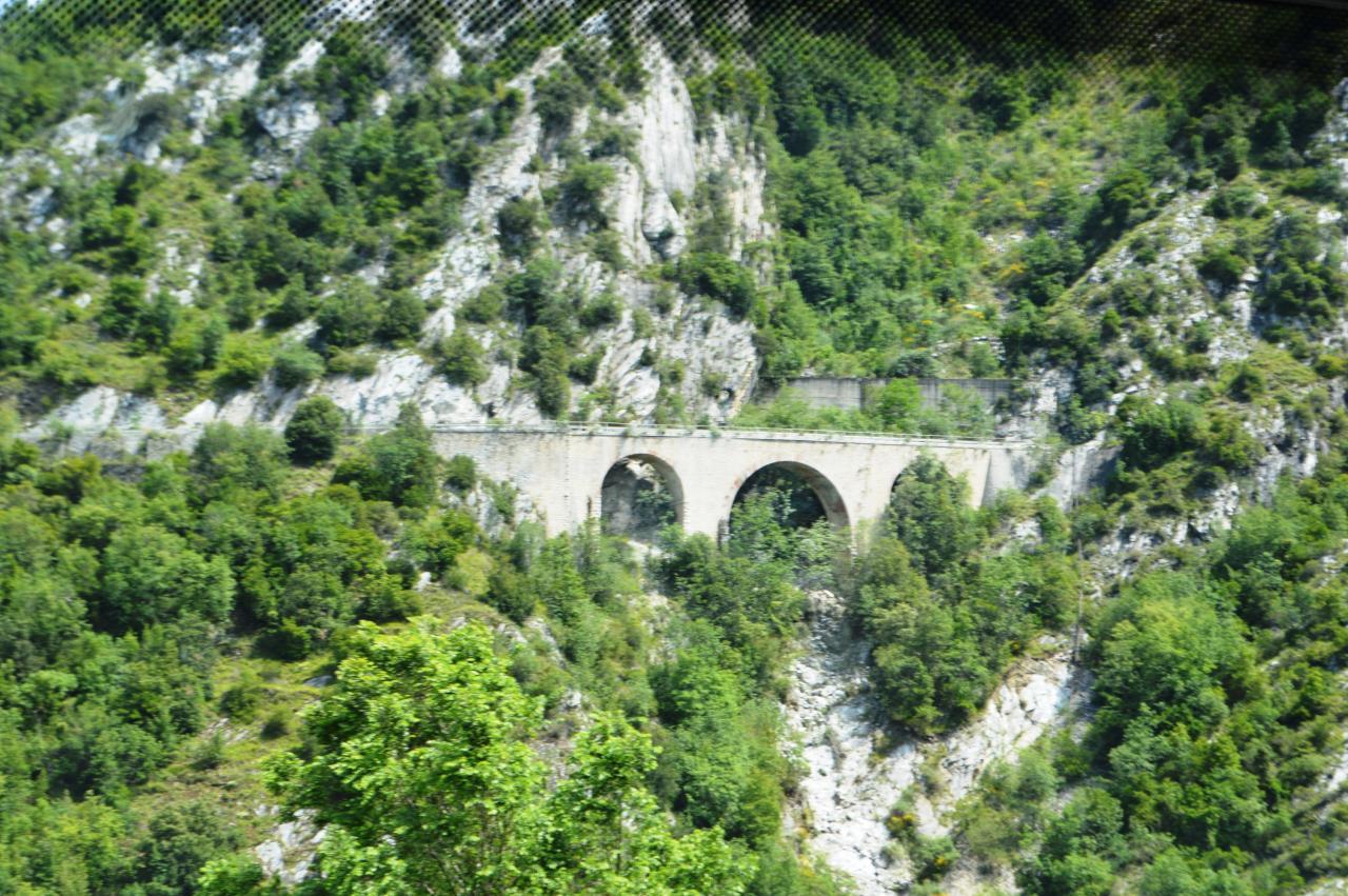 Carrière de marbre de Carrare - Pont Romain