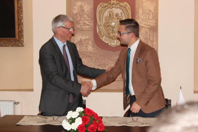 2017 Duszniki - Renouvellement de la Charte