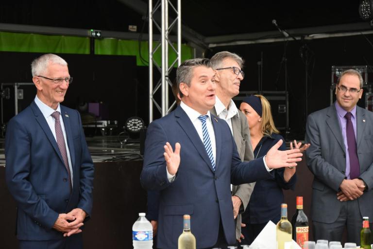 2018 -14 Juillet Cérémonie au Chapiteau