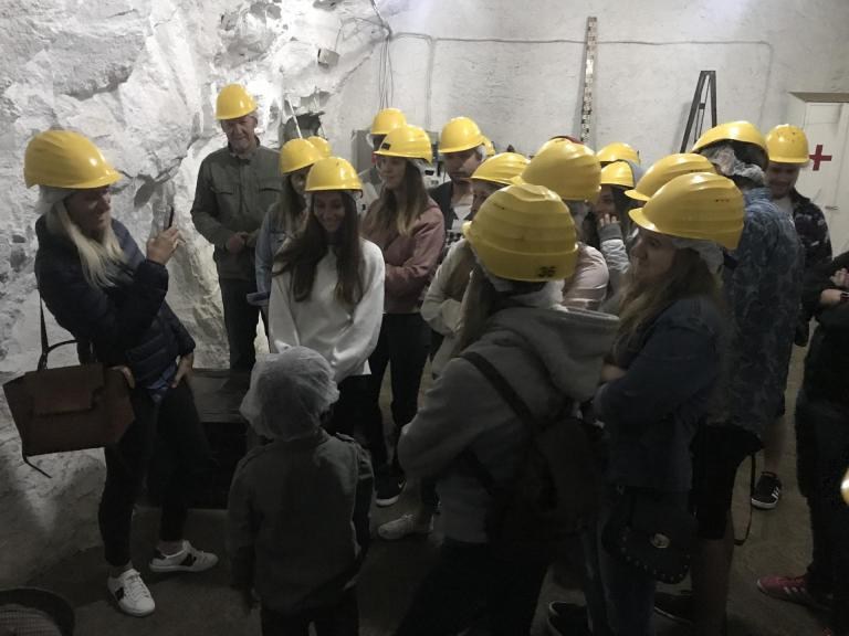 2018 - Visite Mine de Rumelange