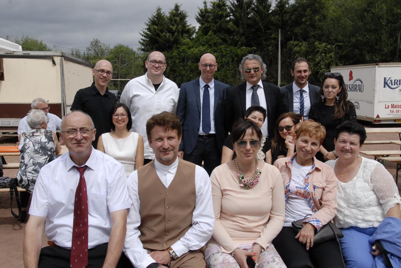 Les délégations italienne et polonaise