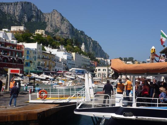 Arrivée à Capri