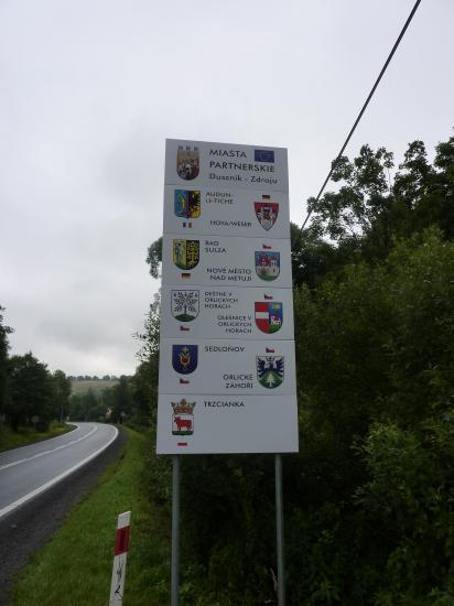 Les jumelages de Duszniki