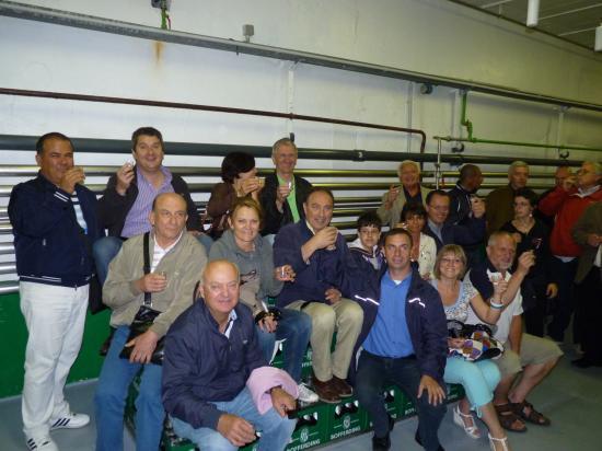 Visite de la brasserie Bofferding