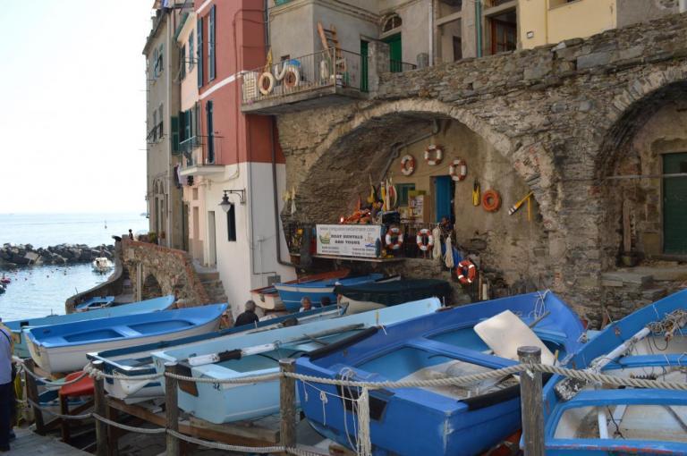 Riomaggiore - 1er village