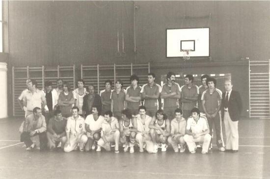 1981-09-Equipe de Basket de Gualdo