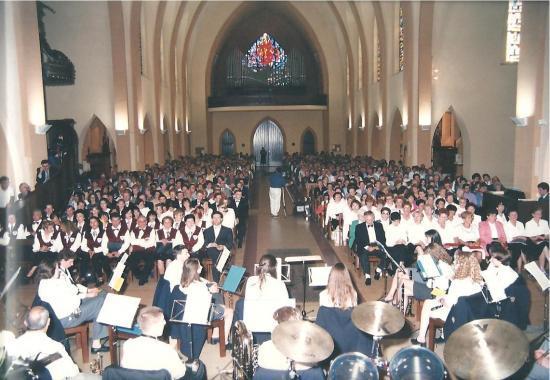 1996-Chorales italiennes et polonaises à Audun