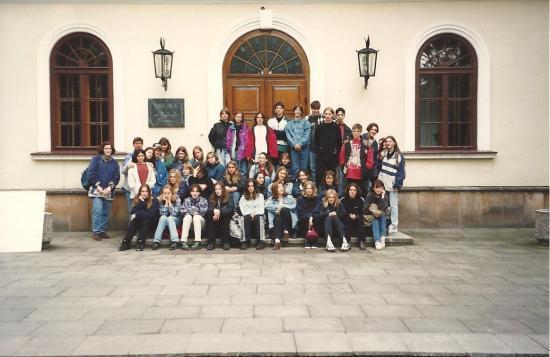 1997-Eleves du College à Duszniki.