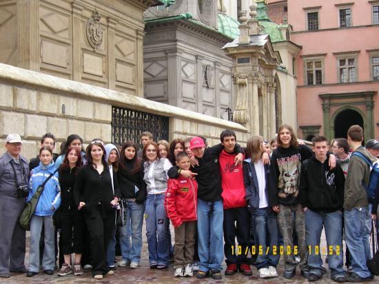 2006 04- Eleves d'Emile Zola  à Duszniki