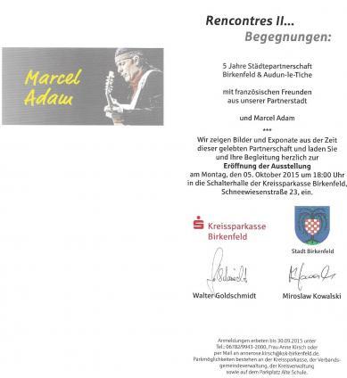 2015 - Invitation à Birkenfeld