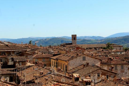 Les toits de Gubbio