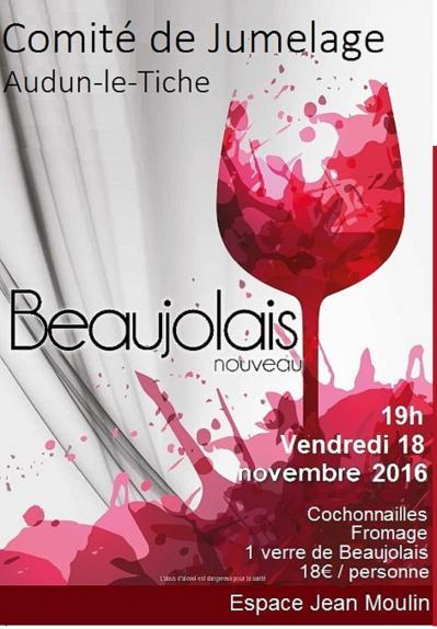 Affiche beaujolais 2016