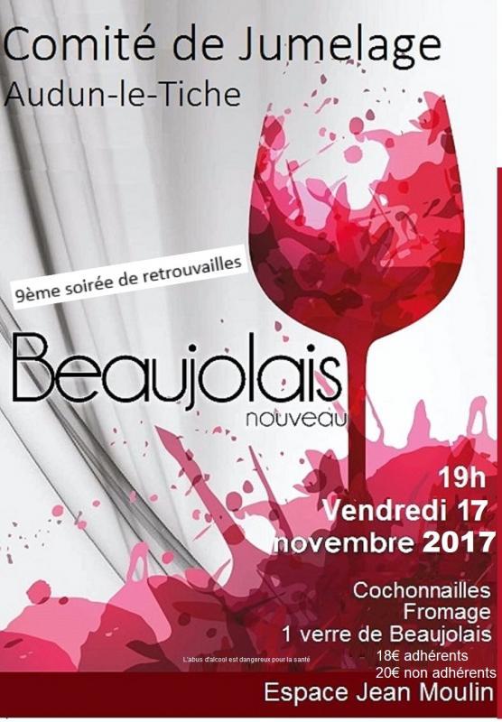 Affiche beaujolais 2017